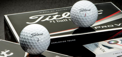 Jordan Speith plays with the Titleist Pro V1x