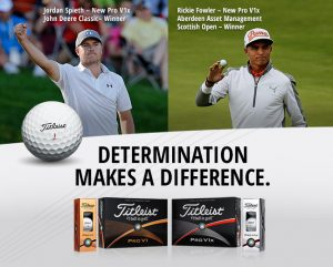 Worlds top golfers use the Titleist that best suits their games