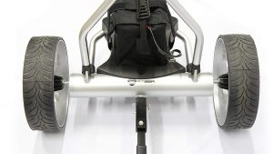 Aluminium construction makes this a really lightweight trolley
