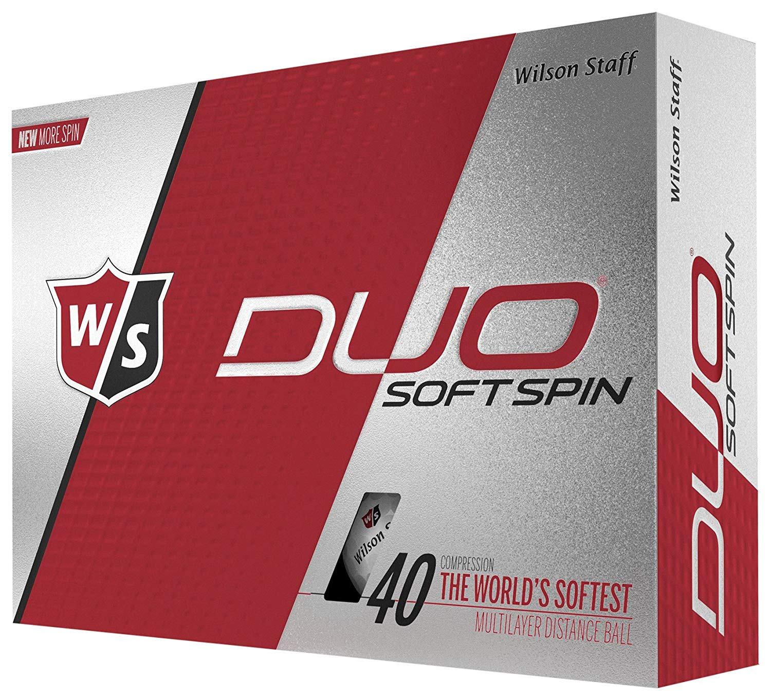 Wilson Staff Duo Soft - cheap golf balls for spin