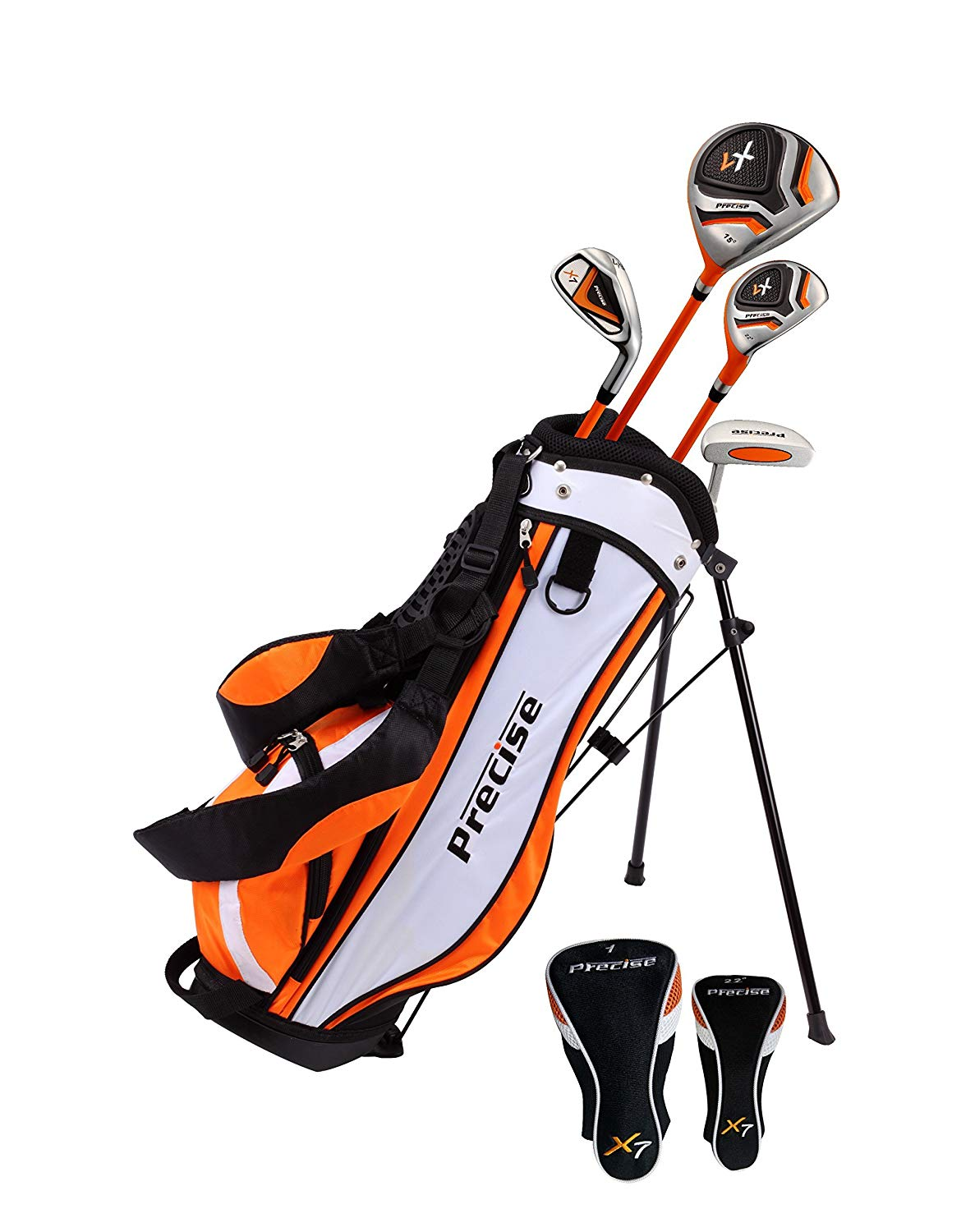 Precise X7 junior golf clubs for ages 3-12