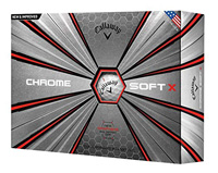 Andrea Pavan plays the Callaway Chrome Soft X golf ball
