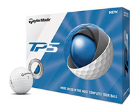 Rory McIlroy plays the TaylorMade TP5 golf ball